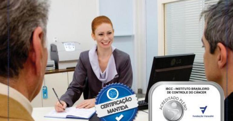 IBCC é aprovado em auditoria de manutenção do nível 2 da ONA
