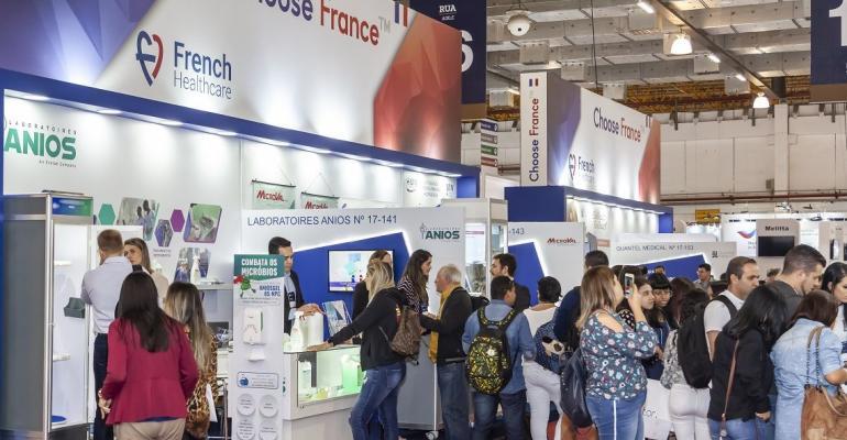 Pavilhão francês comemora 100% de satisfação de seus expositores e confirma presença na Hospitalar 2020