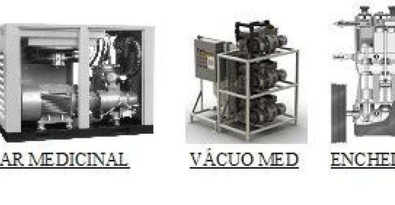SeparAr: concentradores de oxigênio e centrais de gases medicinais