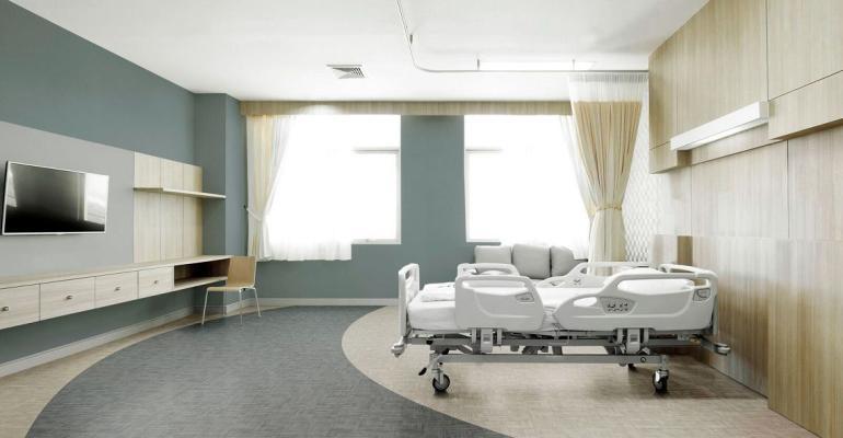 Tarkett inova em cores e formatos de pisos vinílicos na Hospitalar 2019